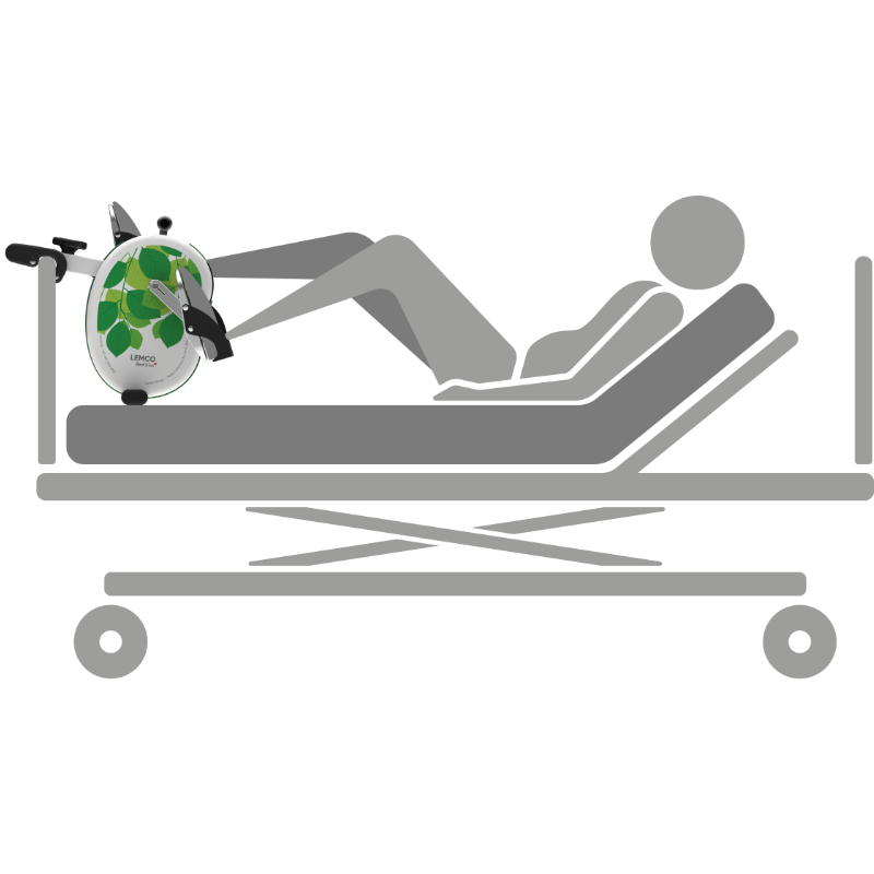 Bed Bike for dialysis-