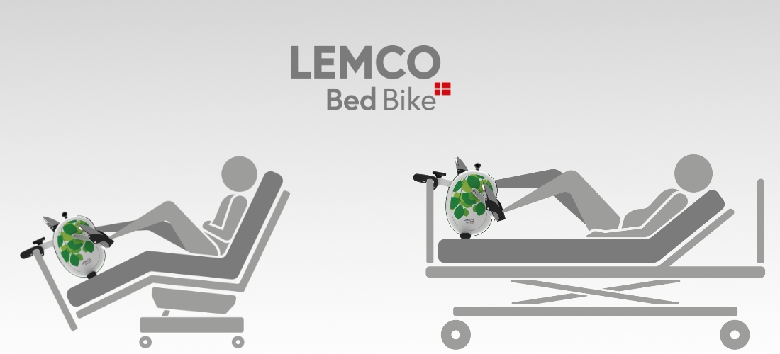 BedBike / Bed Exerciser for in bed rehabilitation