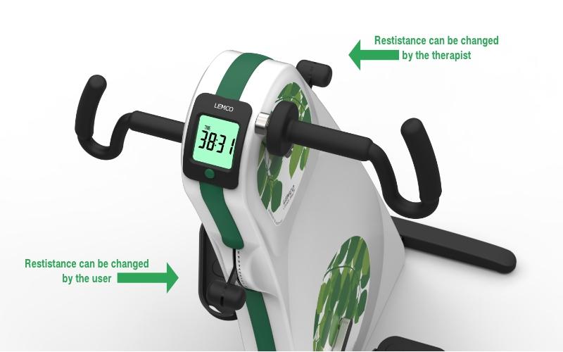 Arm Legtrainer LEMCO Combi Bike - Best bike for wheelchair use